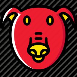animal, pet, pig, wild icon
