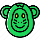 animal, monkey, pet, wild icon
