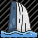 animal, animals, aquarium, aquatic, sea life, whale icon