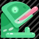animal, animals, chameleon, wildlife, zoo icon