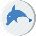 animal, dolphin, pet, wild icon