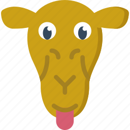 animal, camel, pet, wild icon