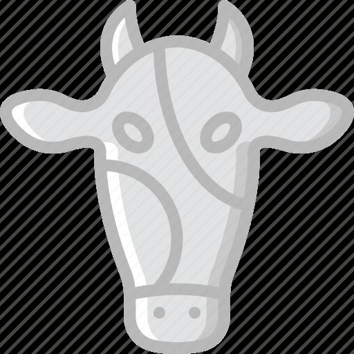 animal, cow, pet, wild icon
