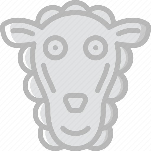 animal, pet, sheep, wild icon