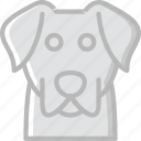 animal, dog, pet, wild icon