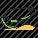 amphibian, animal, frog, species icon
