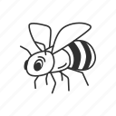 animal, bee, honey, honeybee, insect, wasp icon