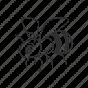 animal, bee, honey, honeybee, insect, wasp