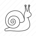 emoji, land snail, sea snail, slow, slug, snail, turbo icon