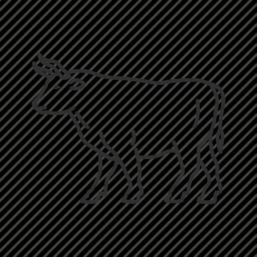 Animal, buffalo, bullock, carabao, mammal, ox, emoji icon - Download on Iconfinder