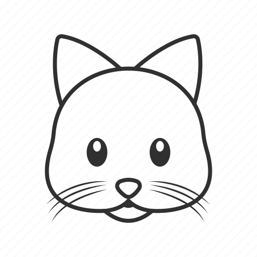 cat, emoji, mice, mouse, mouse face, mouse head, rodent icon