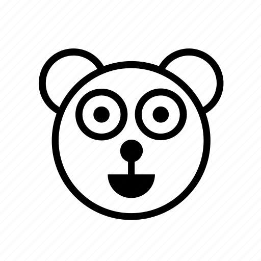 animal, animals, bear, panda, polar, wild, wildlife icon