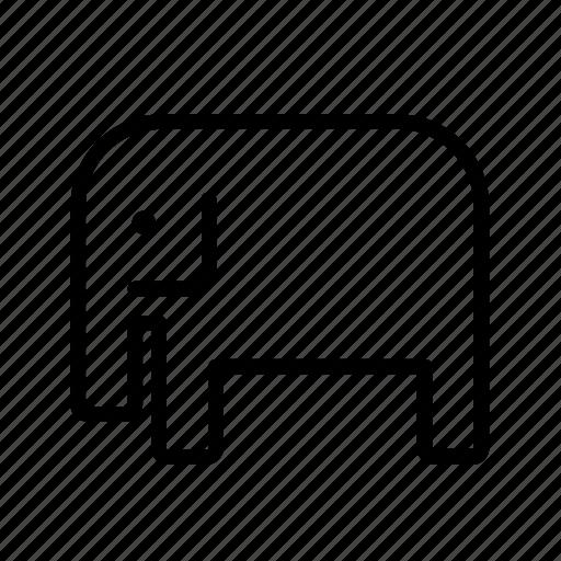 africa, african, animal, animals, elephant, wild, wildlife icon