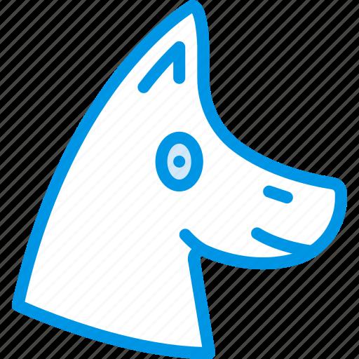 animal, dog, pet, wild icon