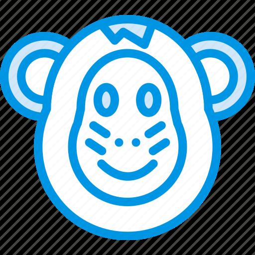 animal, monkey, pet, wild icon