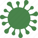 bacteria, coronovirus, disease, infection, virus, viruses icon