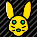 animal, pet, rabbit, wild icon