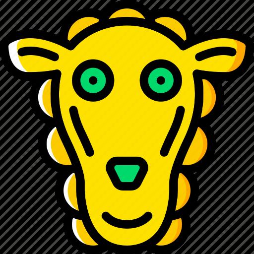 animal, pet, sheep, wild icon