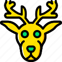 animal, deer, pet, wild icon