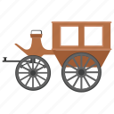 bridal carriage, buggy, carriage ride, medieval carriage, sedan chair