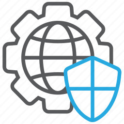 connection, cybersecurity, global, internet, network, online, web icon