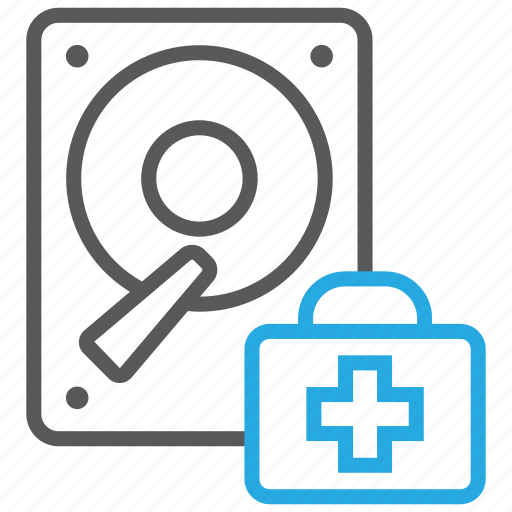 data, disk, doctor, pc, rescue, storage icon