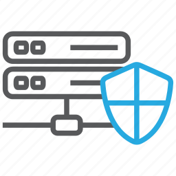 cloud, data, database, network, security, server, storage icon