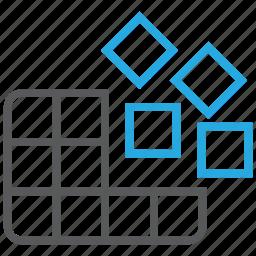 data, defrag, defragmentation, disk, drive, storage icon