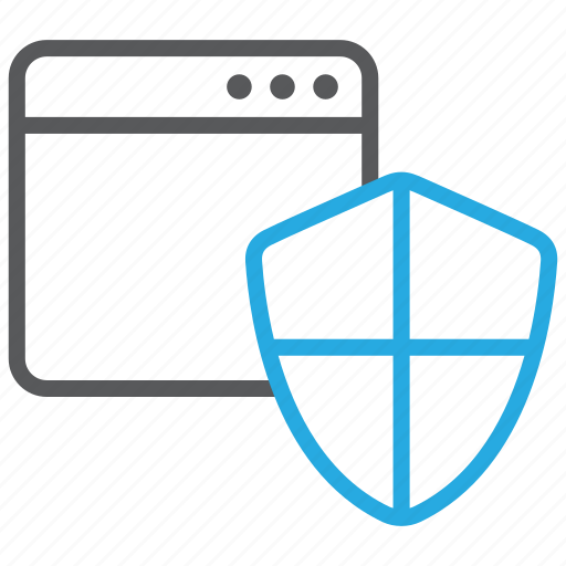 antivirus, browser, security, shield, surf, web icon