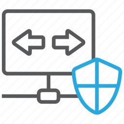 connection, internet, network, protection, security, shield, vpn icon