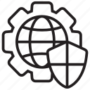 cogwheel, configuration, cybersecurity, gear, preferences, settings icon