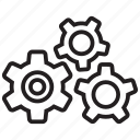 cogwheel, configuration, gear, preferences, settings, system icon