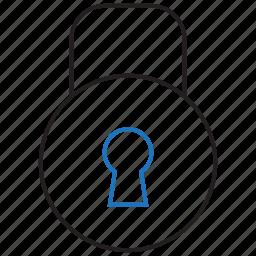 access, denied, deny, lock icon