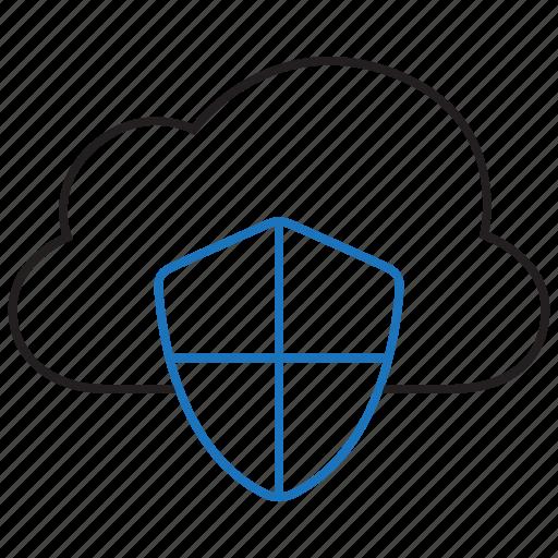 cloud, data, protection, storage icon