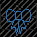 code, gift, present icon