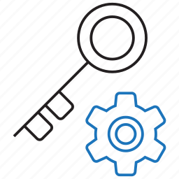 key, manager, password icon