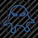 isolation, malware, quarantine, virus icon