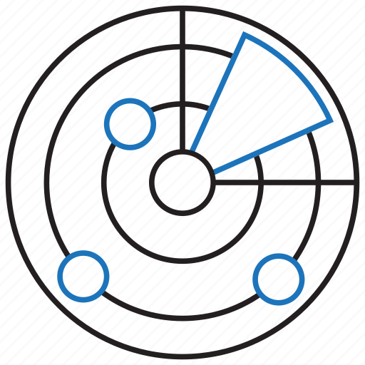 radar, scan, scanner icon
