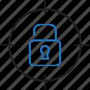target, unlocked, unlock, goal