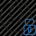 account, profile, unlock, user icon
