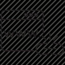 break, broken, chain, connection, hyperlink, link, url icon