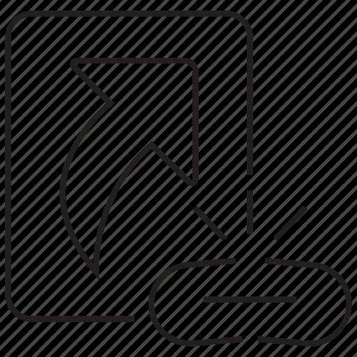 break, broken, chain, file, link, shortcut icon