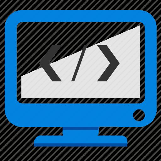 code, coding, css, custom code, optimization, script, web icon