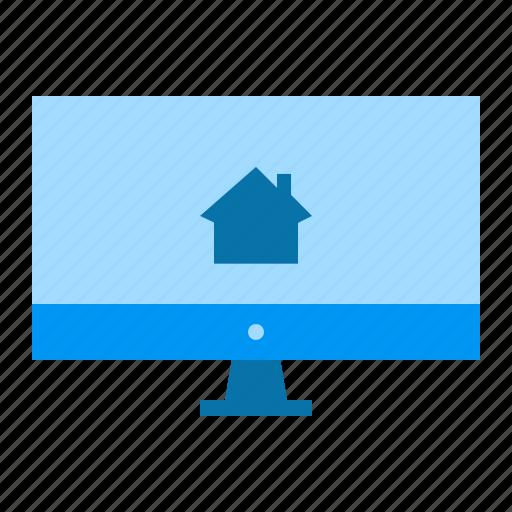 computer, desktop, property, web icon