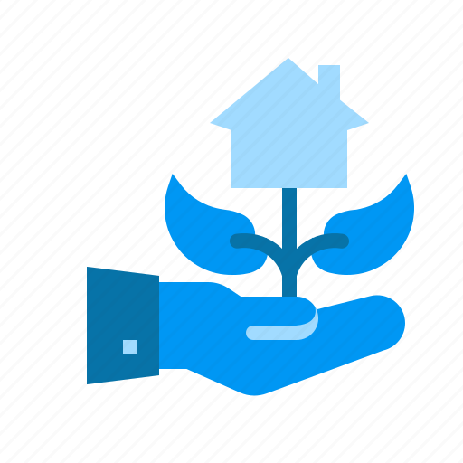 business, finance, growth, investation, investment, property icon