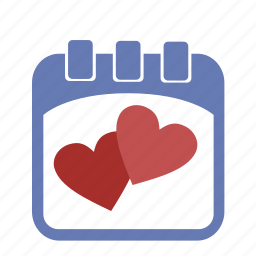calendar, day, event, favorite, heart, holiday, like, love, love day, romantic, valentine, valentine's day icon
