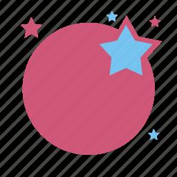 circle, label, price, sale, star icon