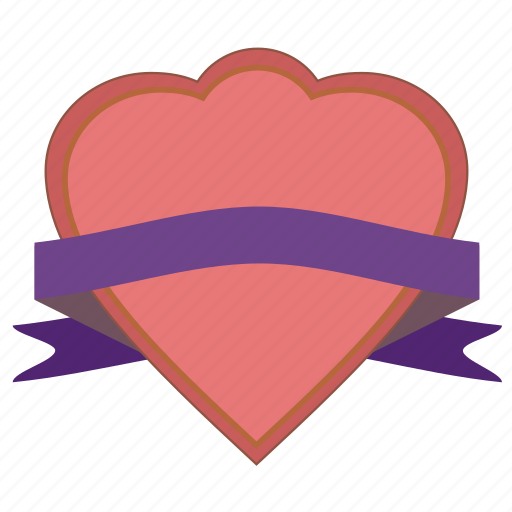 band, favorite, favorites, favourite, gift, heart, love, riband, ribbon, romantic, strip, tape, valentine icon