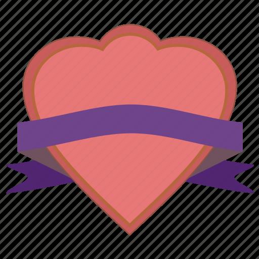 band, favorite, favorites, favourite, gift, heart, love, riband, ribbon, romantic, strip, tape, valentine icon