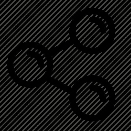 ic, media, network, send, share, social, spread icon